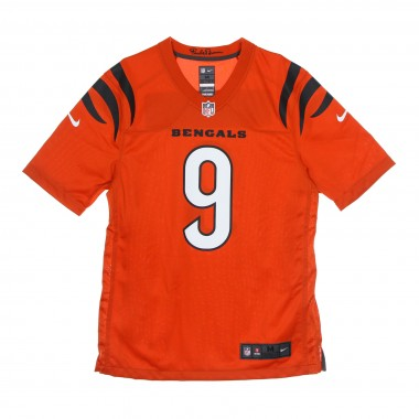 casacca football americano uomo nfl game alternate jersey no 9 burrow cinben