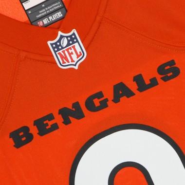 CASACCA FOOTBALL AMERICANO UOMO NFL GAME ALTERNATE JERSEY NO 9 BURROW CINBEN M