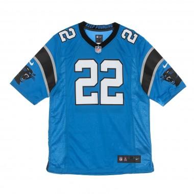 CASACCA FOOTBALL AMERICANO UOMO NFL GAME ALTERNATE JERSEY NO 22 MC CAFFREY CARPAN M