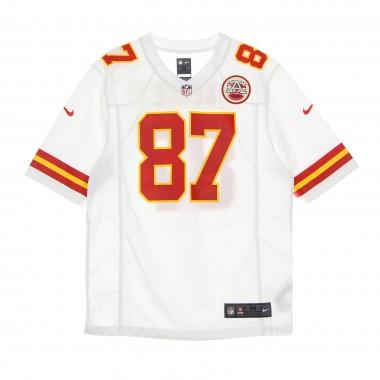 CASACCA FOOTBALL AMERICANO UOMO NFL GAME ROAD JERSEY NO 87 KELCE KANCHI M