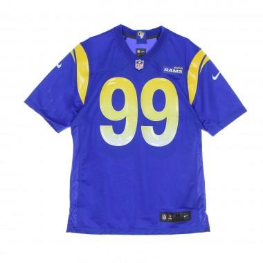 casacca football americano uomo nfl game team colour jersey no.99 donald losram