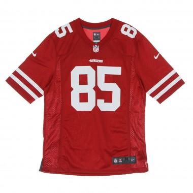 CASACCA FOOTBALL AMERICANO UOMO NFL GAME TEAM COLOUR JERSEY NO 85 KITTLE SAF49E M