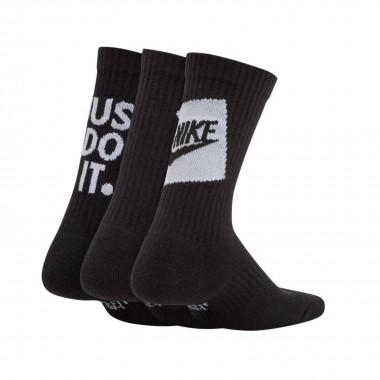 medium sock kid  everyday cush crew 3pk
