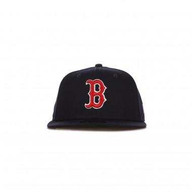 CAPPELLINO VISIERA PIATTA UOMO MLB AUTHENTIC ON FIELD GAME PERF 5950 BOSRED 6 7/8