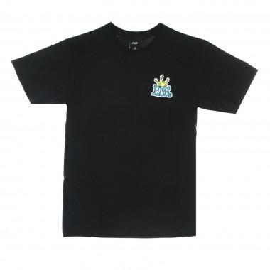 t-shirt man huf crown logo tee
