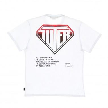 t-shirt man double logo tee