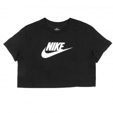 maglietta corta donna essnt crop icn ftra