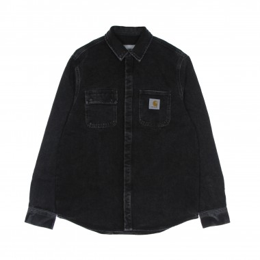 camicia manica lunga uomo salinac shirt jacket S