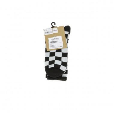 medium sock man checkerboard crew