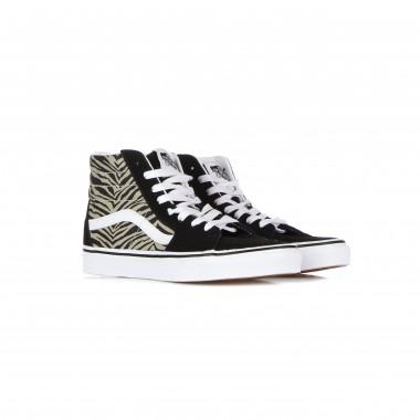 scarpa alta donna sk8-hi (safari multi) 13/15Y