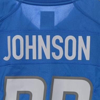 casacca football americano uomo nfl game team colour jersey no.33 johnson detlio S