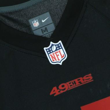 casacca football americano uomo nfl game alternate jersey no.85 kittle saf49e M