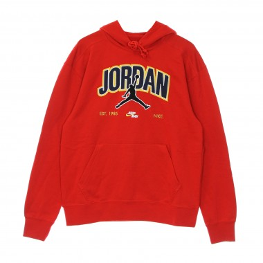 felpa leggera cappuccio uomo jordan jumpman flc pullover