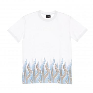 t-shirt man new flames tee