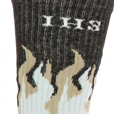 medium sock man new flames socks