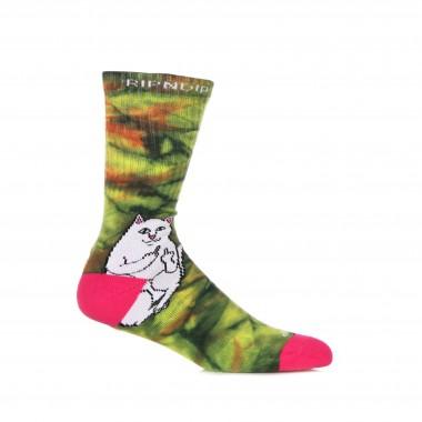 medium sock man lord nermal sunburt socks