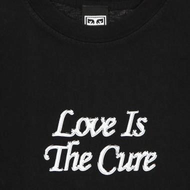 t-shirt man love is the cure 2 heavyweight tee