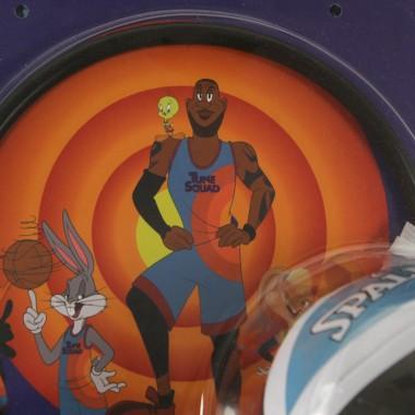mini basketball set man blue tune squad backboard x space jam