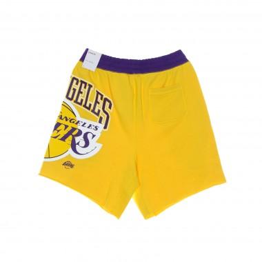 short trousers suit man nba short fleece courtside 75 loslak