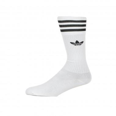 medium sock man solid crew sock