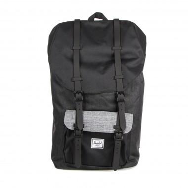 backpack man little america