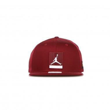 flat visor cap man jordan pro jumpman cap