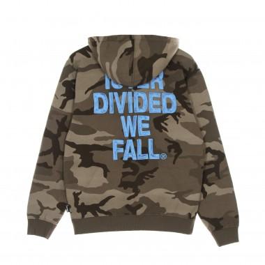hoodie man divided camo hoodie