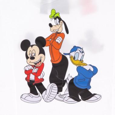 t-shirt kid mickey and friends tee x disney