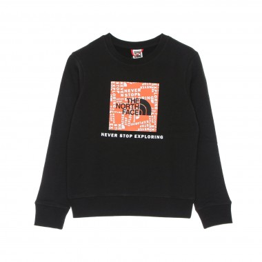 crewneck sweatshirt kid box crew
