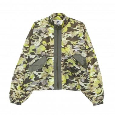 coat jacket lady woven aop jacket