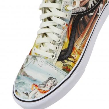 low sneaker man old skool (otw gallery) nathan kostechko