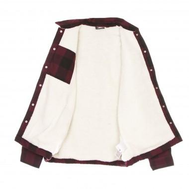 camicia imbottita uomo sherpa lined sacramento One Size