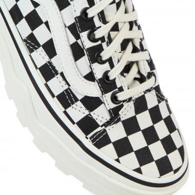 low sneaker lady sentry old skool wc (checkerboard)