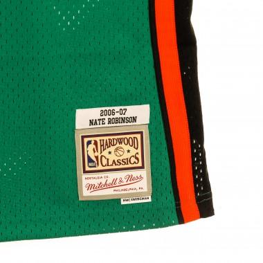 basketball jersey man nba swingman jersey st patrick hardwood classics n.4 nate robinson 2006-07 neykni alternate