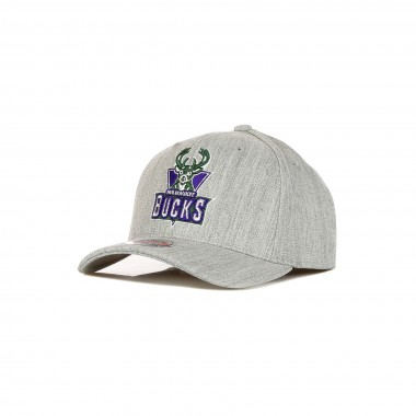 curved visor cap man nba team heather redline classic stretch snapback hardwood classics milbuc