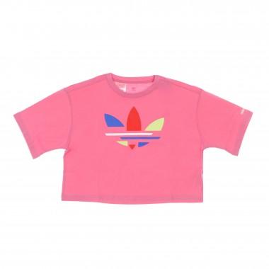 short t-shirt kid cropped tee