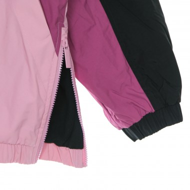 threadable jacket lady retro block windbreaker