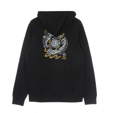 felpa cappuccio uomo rotation hoodie x timber 7 1/8