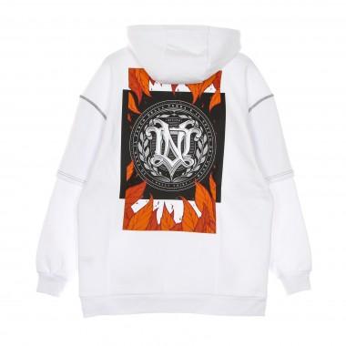 felpa cappuccio uomo autunno double sleeves over hoodie 42