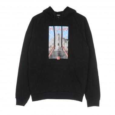 felpa cappuccio uomo milano hoodie 42