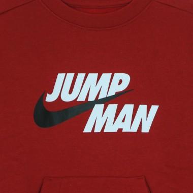 felpa girocollo bambino jumpman by nike crew 7-8A