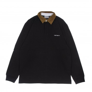 long spleeve polo man cord rugby l/s shirt