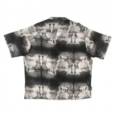 camicia manica corta uomo pota paradise shirt 7 1/8