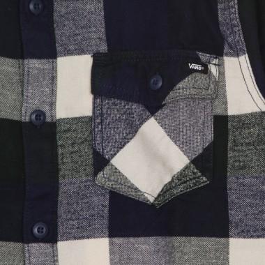 long-sleeved shirt man box flannel shirt
