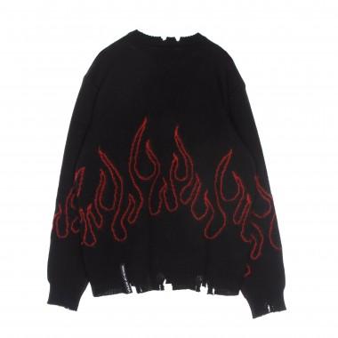 maglione uomo red flames jumper 7-8A