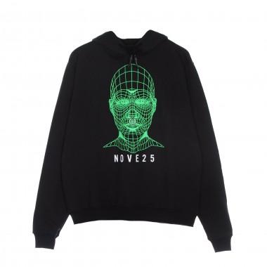 lightweight hoodie man green face hoodie x nove25