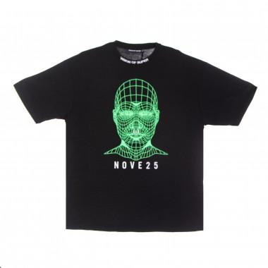 t-shirt man green face tee x nove25