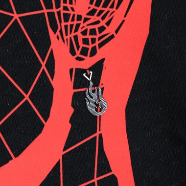 t-shirt man red face tee x nove25