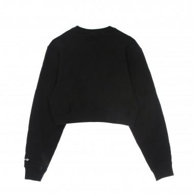 short lightweight crewneck sweatshirt lady sweatshirt