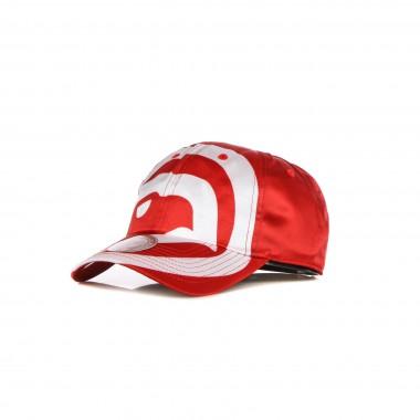 curved visor cap man nba full on dad strapback hardwood classics atlhaw